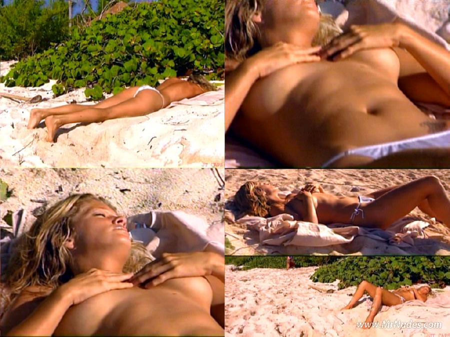 rachel hunter nude videos
