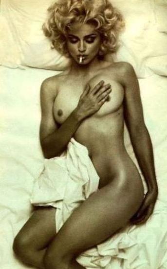 Madonna homemade naked pics